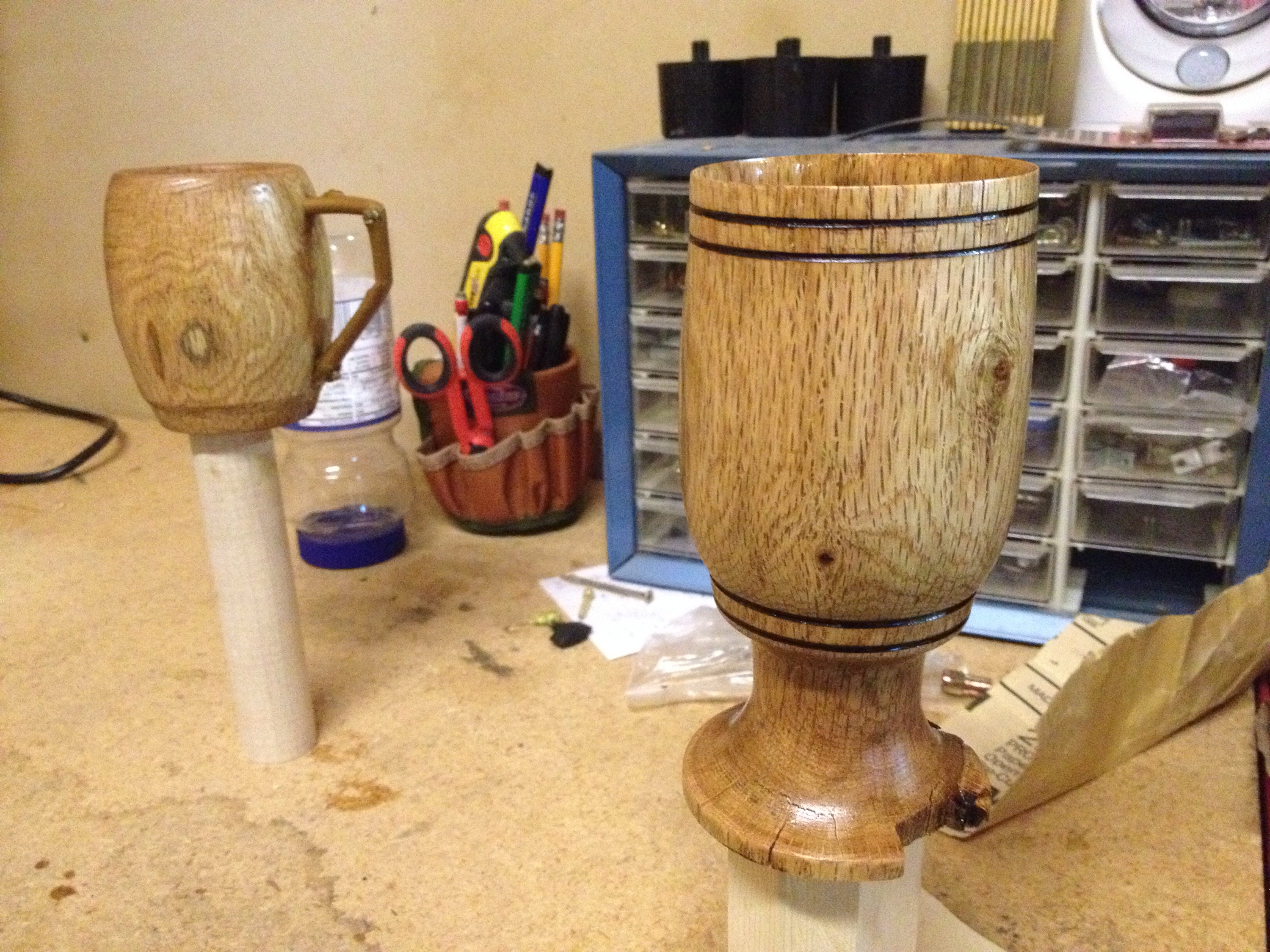 Finished Wood Lathe Projects