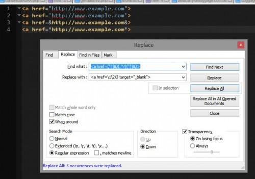 Regular Expression (RegEx) Tips in Notepad++ | Brian Prom Blog