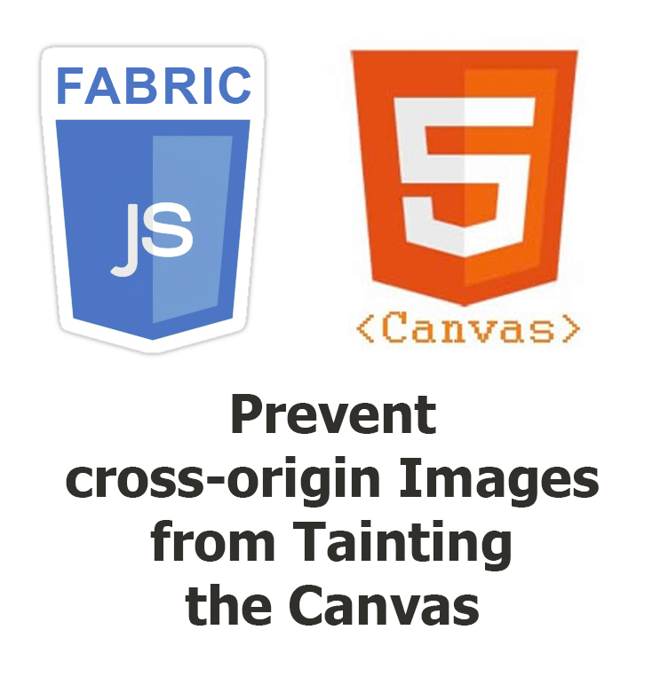 Fabric JS Tainted Canvas - Cross-Origin Images | Brian Prom Blog