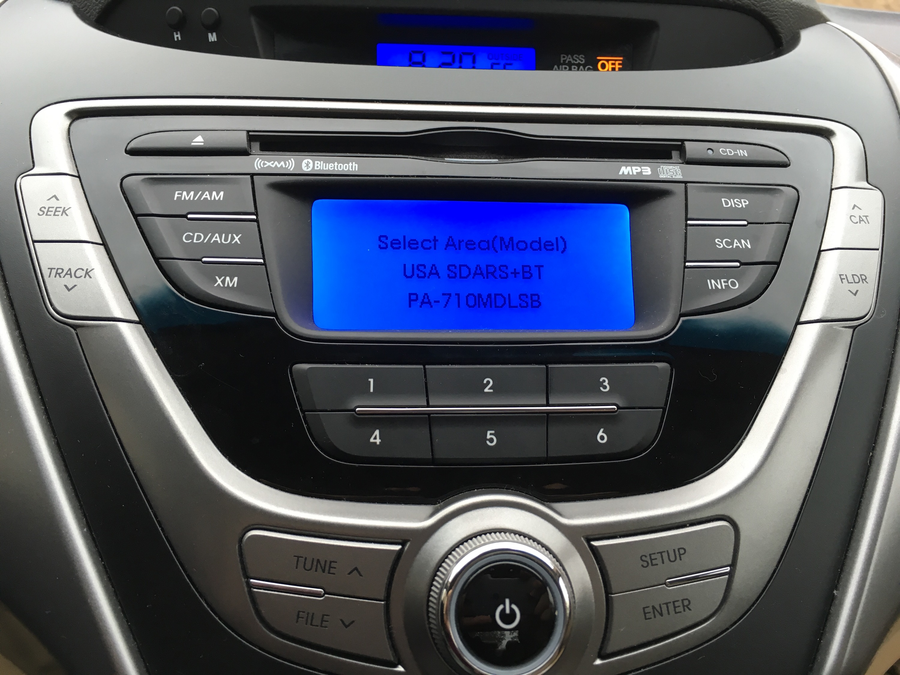 Disable XM Radio on Hyundai Elantra 2013 | Brian Prom Blog